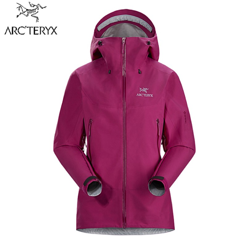 【Arcteryx 始祖鳥】女 Beta SL Hybrid防水外套 女神紅 Dakini 23704 登山連帽外套