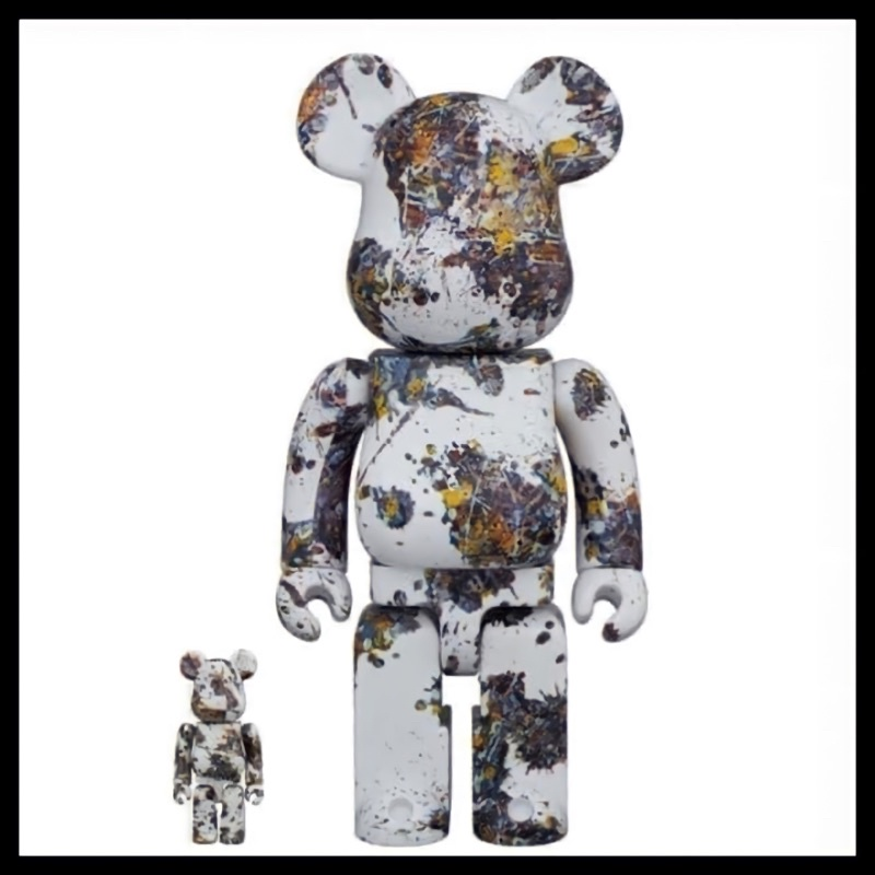 【No4_another.art】BE@RBRICK 潑墨3代