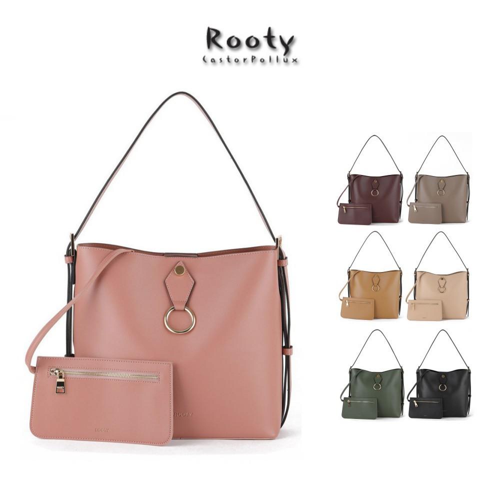 韓國Rooty LUCKY手提側背水桶包 NO.R493