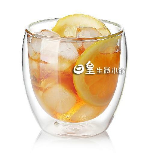 【日正】雙層玻璃杯 雙層杯 雙層咖啡杯 現貨 雙層隔熱杯250ml 媲美BODUM 星巴克