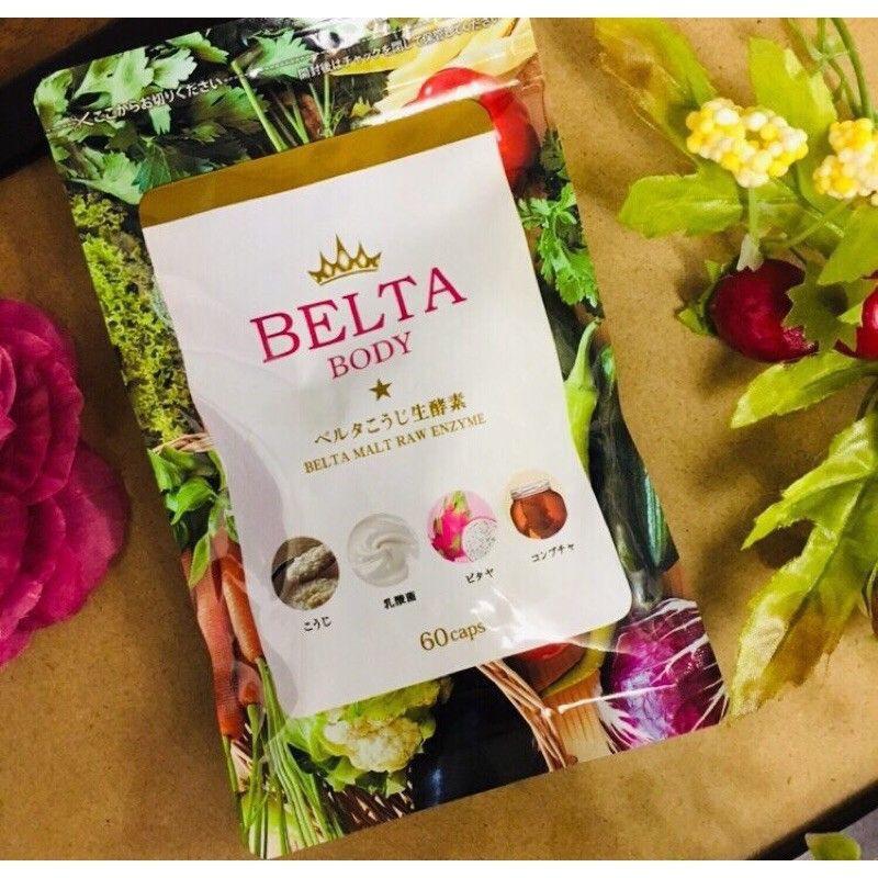 限時折扣公司貨 日本Belta酵素BELTA纖暢美生酵素60顆/包
