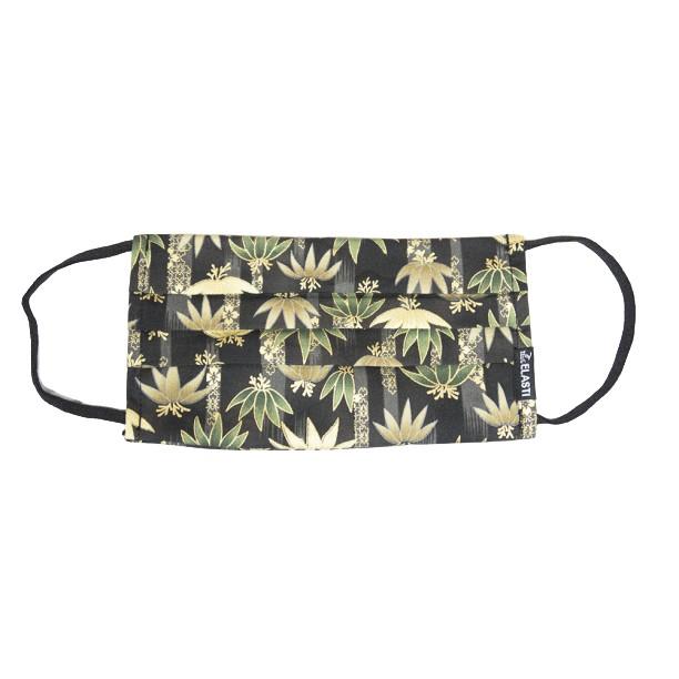 Elasti日式和風口罩-綠竹蓮心(買口罩送10片拋棄式濾片)