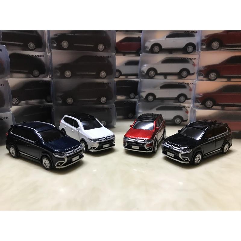 2020年式 三菱 Mitsubishi Outlander 1:43 鋅合金模型車 原廠模型車