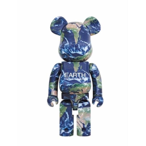 「預購」25週年展限定 EARTH BE@RBRICK  Bearbrick 1000% 地球