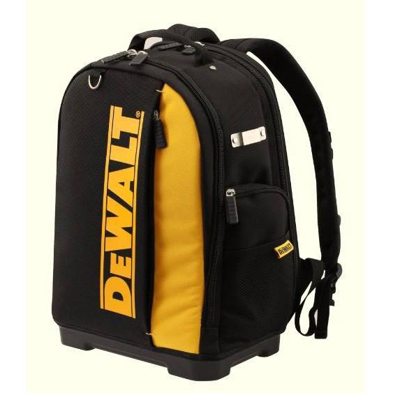 【威威五金】美國 DEWALT 得偉 強韌收納後背包 工具袋 收納背包 防水底座 分隔夾層好收納 DWST81690-1