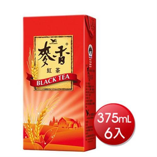 統一 麥香紅茶(375mlX6入)[大買家]