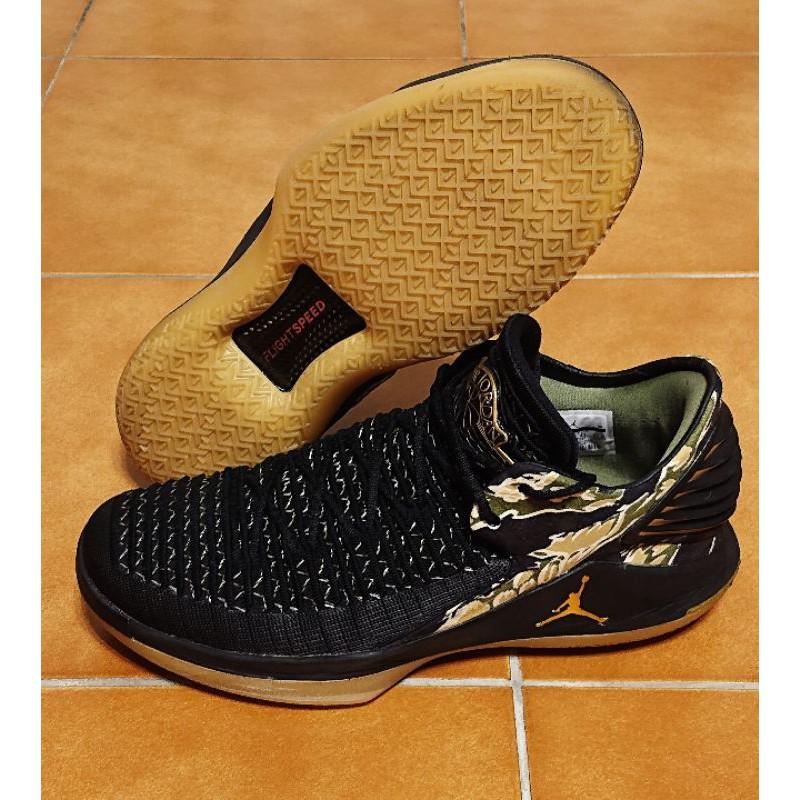 Air Jordan XXXII Low 32代 虎斑 迷彩 MJ 籃球鞋