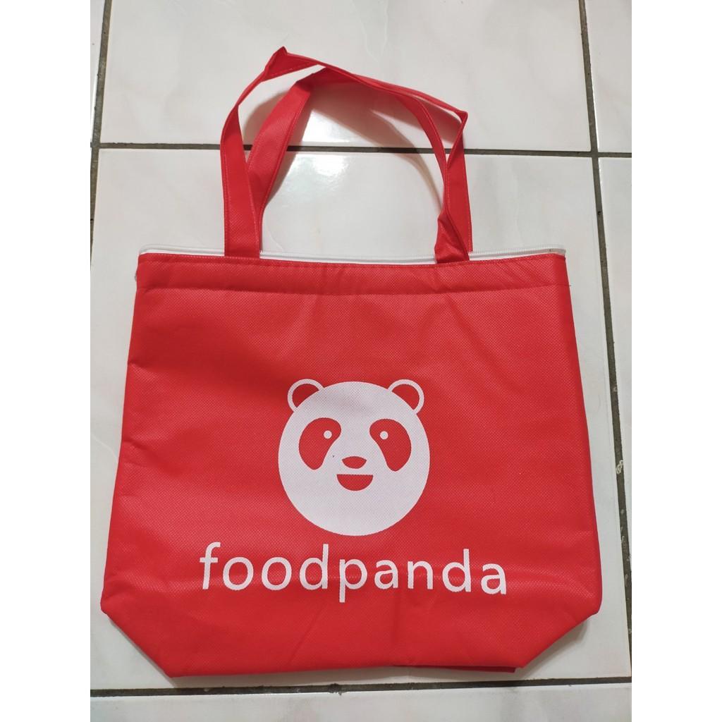 Foodpanda  外送保溫袋 外送手提袋