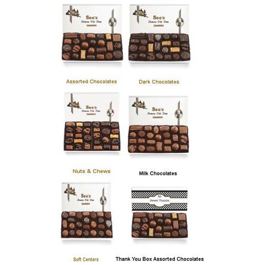 【比價達人】代購 See`s Candies 綜合巧克力 綜合黑巧克力 焦糖堅果巧克力