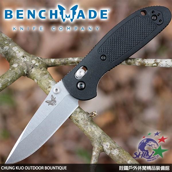 詮國 - Benchmade Mini-Griptilian黑柄折刀 / CPM-S30V鋼平刃 / 556-S30V