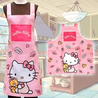 三麗鷗 HELLO KITTY 綁帶式圍裙 台灣代理原廠貨 廚房圍裙 嘉義縣