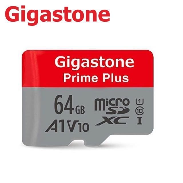 Gigastone 64GB Prime Plus microSDXC UHS-1 A1 高速記憶卡 附轉卡