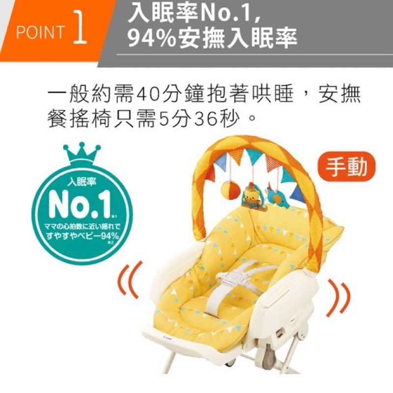 「免運」日本 Combi 康貝 Letto MT Joy 玩具版 安撫餐搖椅 餐椅 搖床 🎁贈品✨迪士尼米奇防污墊