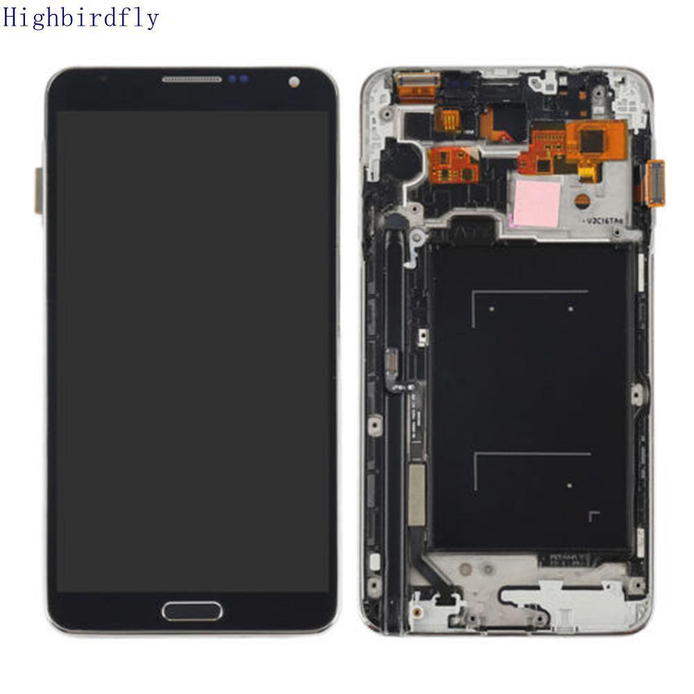 適用於三星Note 3 N900 N9005 液晶屏顯示屏觸摸屏內屏外屏總成一體