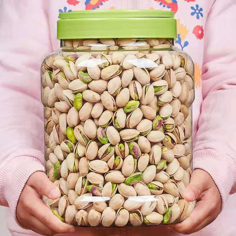【吃喝玩樂🔥】新貨開心果鹽焗味大顆粒含罐500g果仁乾果堅果零食批發50g