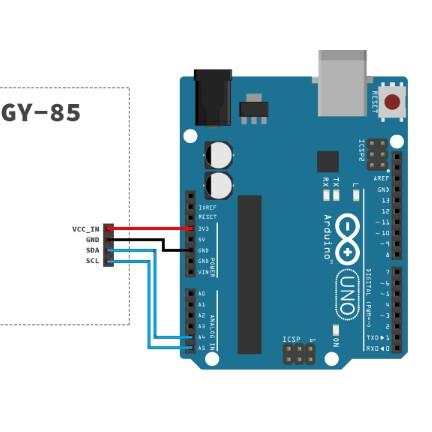 【樂意創客官方店】正廠GY-85九軸IMU傳感器 ITG3200/3205 ADXL345 HNC5883L模組