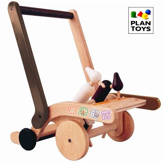 @米米的窩@玩具租賃 泰國 PLAN TOYS啄木鳥學步推車 學步車 寶寶手推車  [出租品]