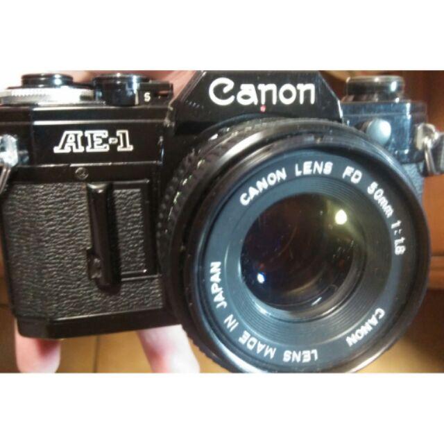 鏡頭 底片 單眼相機 canon ae1 fd 鏡頭50mm f1.8