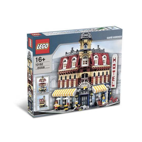 【麥斯與亞當】LEGO 10182 Cafe Corner