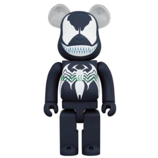 【貝曼精選】【預售】Be@rbrick  Venom 猛毒 全新限量 毒 100%+400%/1000%