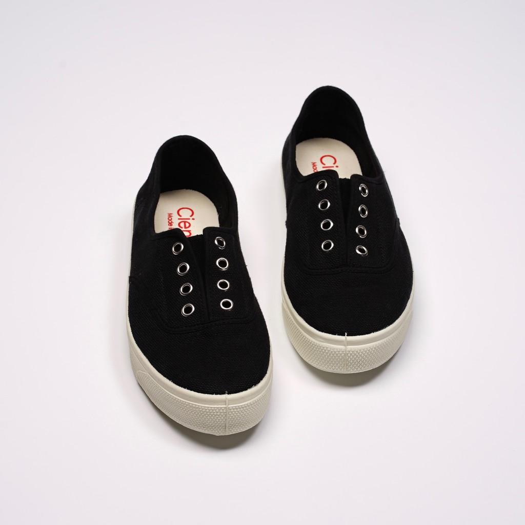 CIENTA 西班牙國民帆布鞋 10997 01 黑色 經典布料 大人