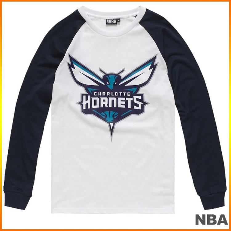 NBA 印花長袖薄T恤 黃蜂隊 8660121-009
