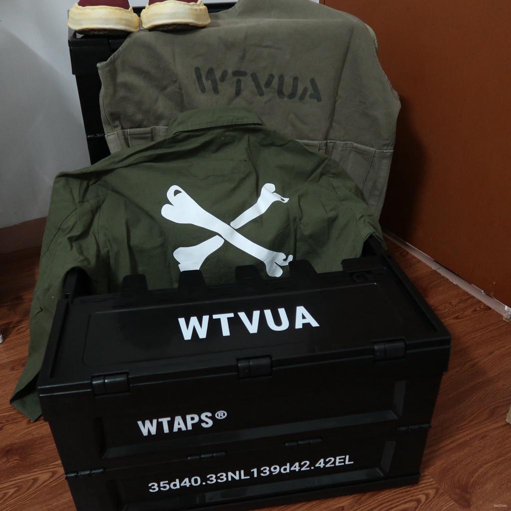 儲物盒衣服收納箱 折疊鞋子53L能整理箱風機 WTAPS 日潮現貨軍事