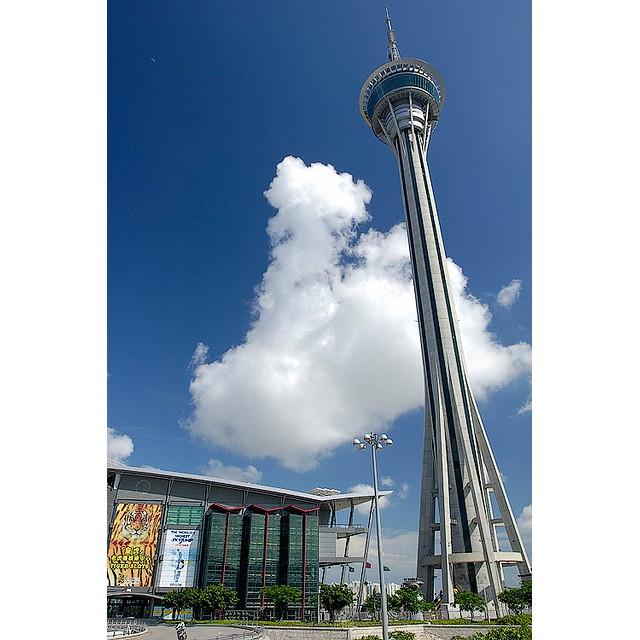【澳門】旅遊塔 「360度60樓旋轉餐廳」自助餐~平日午餐/下午茶/晚餐~包含旅遊塔門票
