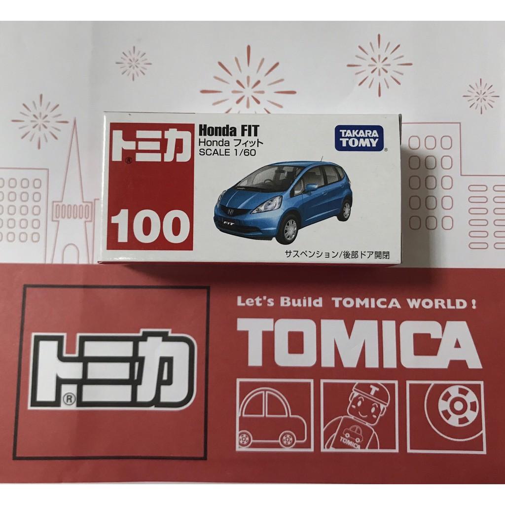 TOMICA 100  Honda FIT (全新未開)*現貨*