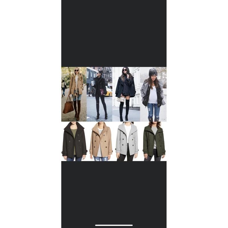 thread&supply雙排釦毛呢羊毛外套(經典駝色)M尺寸