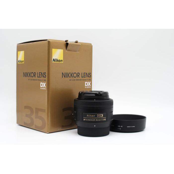 【青蘋果3C】Nikon AF-S DX 35mm f1.8G 二手鏡頭 定焦鏡 公司貨 #29229