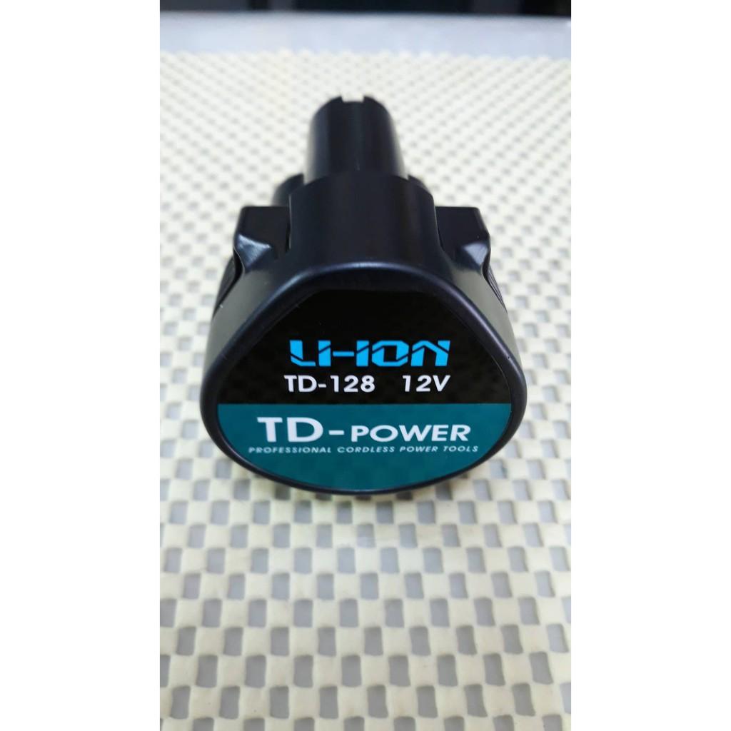 [便宜五金] (TD-128原廠電池) 12V英得麗起子機 電動震動電鑽 鋰電池 BL1013 牧田博士得偉BOSCH