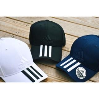 ADIDAS 3C CAP COTTO 電繡老帽黑S98156 白BK0806 藍BK0808  b69bf91f7566