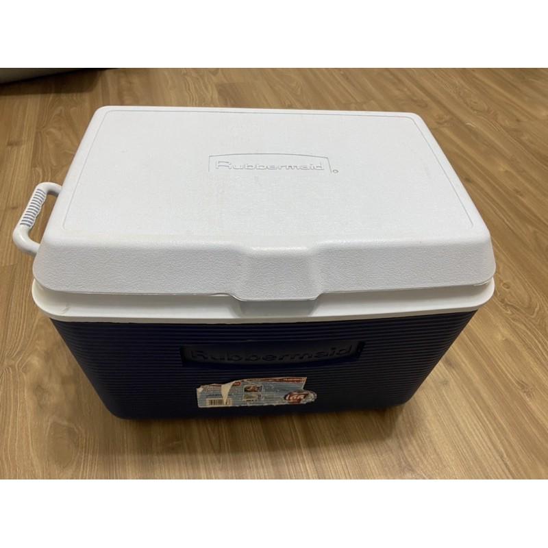美國 RUBBERMAID 品牌大冰桶 保溫冷藏箱 保冷冰箱45公升(二手),台南市面交