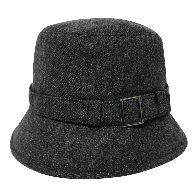 【Mountneer山林】羊毛保暖筒帽12H16-11 深灰色/ 毛線帽/冬帽/休閒帽/保暖帽/防風帽 /野雁戶外