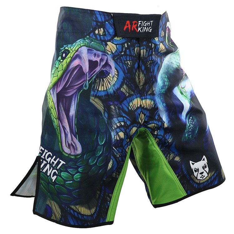 《硬派運動》ARFIGHTKING 綜合格鬥MMA褲 銜尾蛇