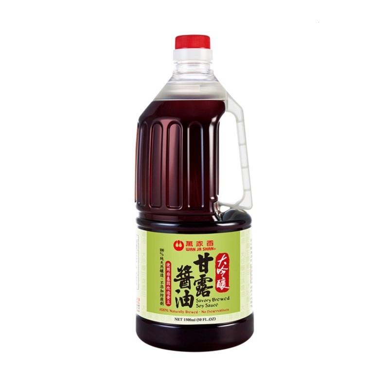 預購 萬家香 大吟釀 甘露醬油 1500ml 醬油 #108635