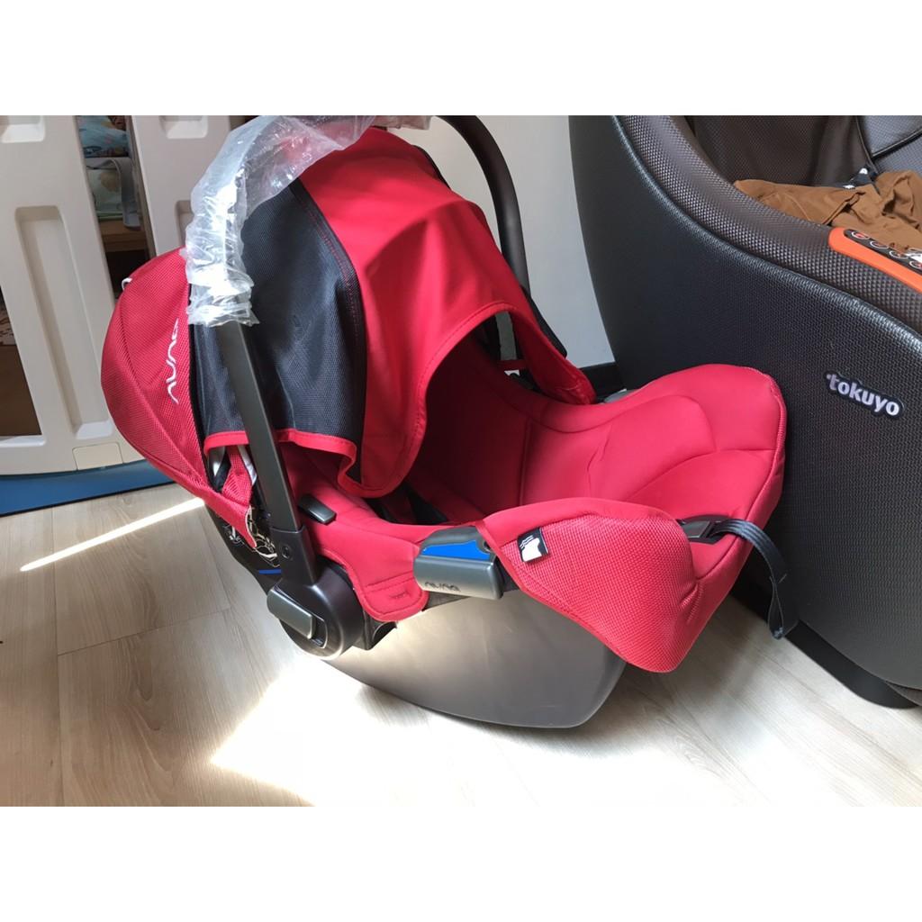 荷蘭NUNA PIPA提籃式汽座  紅色