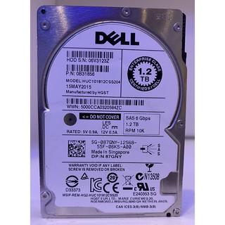 DELL 87GNY 1.2tb SAS 6gb/ s 10K 128mb Cache 2.5 吋 硬碟