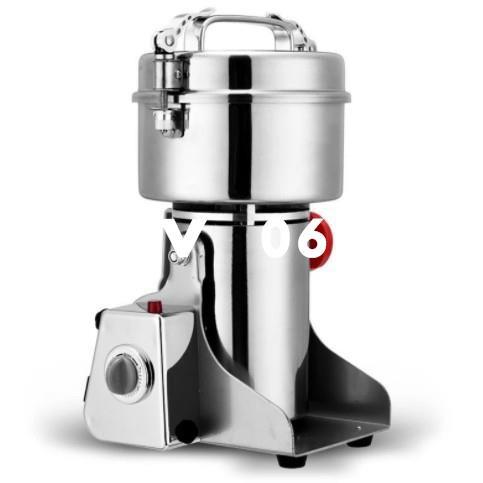 #新品110V磨粉機 800G打粉機 粉碎機 搖擺式研磨機 800克磨粉機 中藥材研磨機 電動超細打碎機