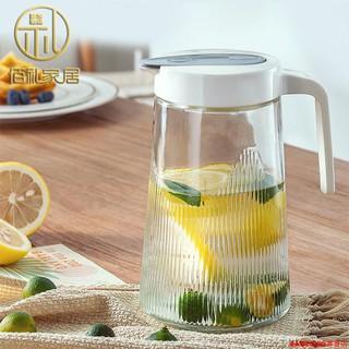 新款推薦!【加厚款】1.3L冷涼水壺家用玻璃大容量號杯子果汁泡茶壺杯具套裝 南投縣
