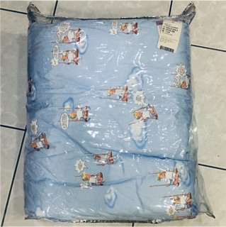 彼得兔 1929 HOME STUDIO居家生活 歐洲品牌LESTRIPLES 三寶貝 天真之愛童被[藍] 臺南市