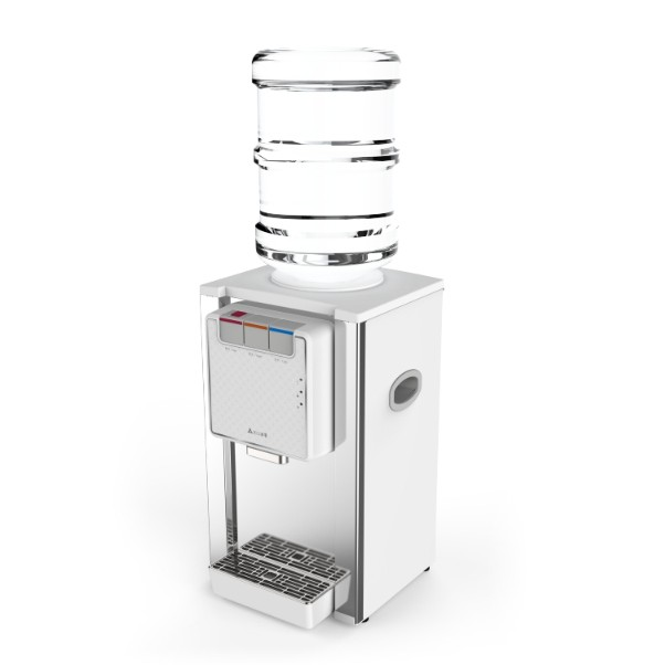 元山不鏽鋼桌式桶裝冰溫熱飲水機 YS-8201BWIB (升級為符合能效分級)