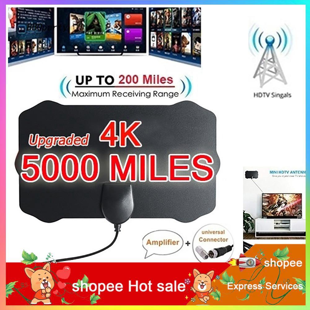Azx _ Mini Shield Shape Hdtv 天線 4k 高清室內數字電視天線天線