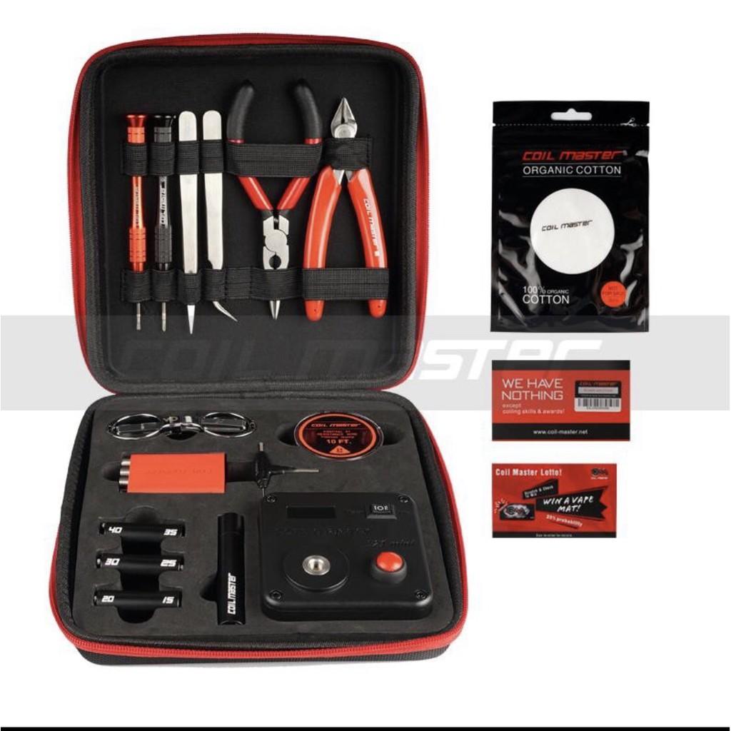 Coil Master Diy kit V3三代原廠正品組 工具包 VAPE包 歐姆機