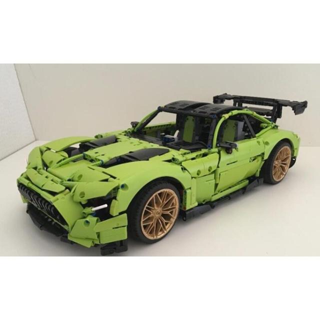 樂高 LEGO 42115 藍寶堅尼 Lamborghini 改 M-Benz AMG GT R  MOC 說明書