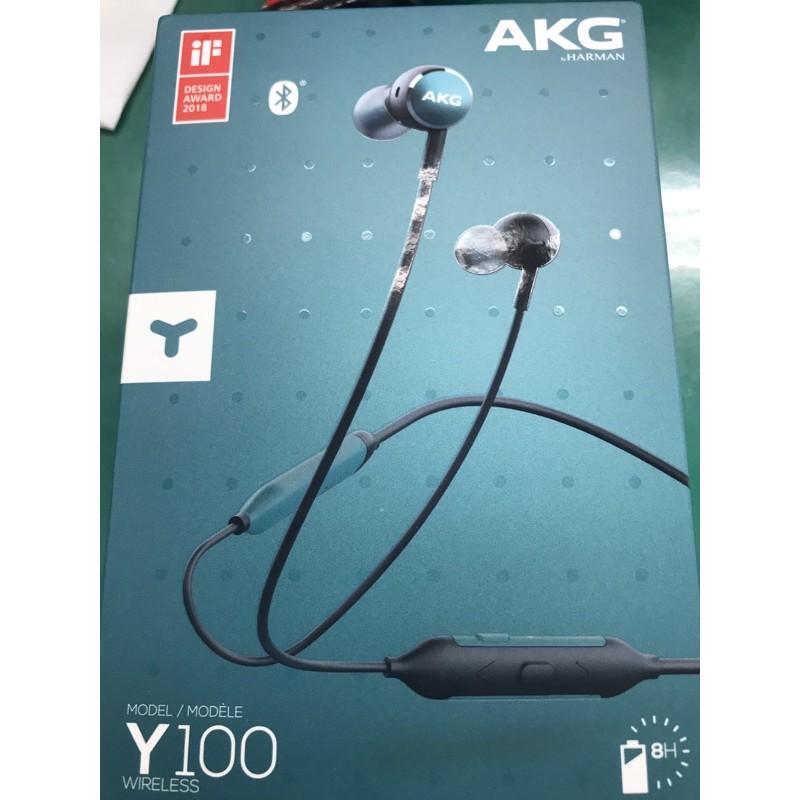 AKG Y100 耳道式耳機