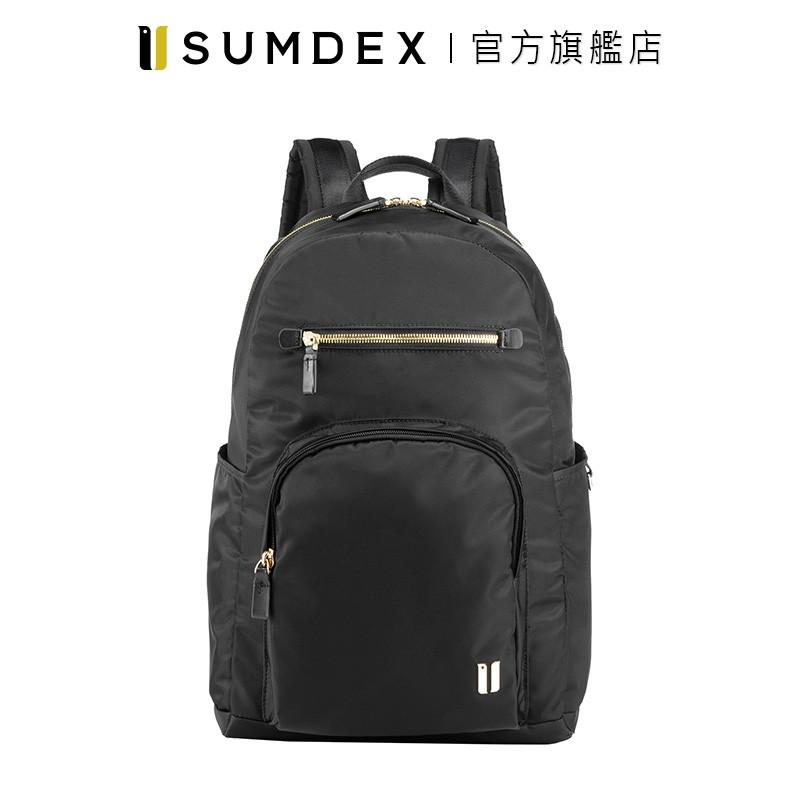 Sumdex|都會標準後背包  NON-757BK 黑色 官方旗艦店