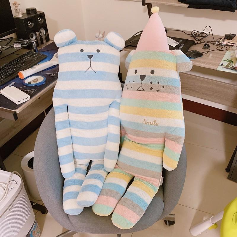 二手CRAFTHOLIC 宇宙人 聖誕狗+藍白條紋熊 專櫃正品