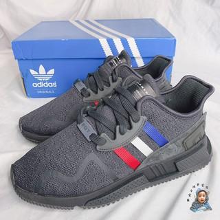 the best attitude 5c3f5 e80c1 【我愛小孩更愛買】現貨 Adidas EQT Cushion ADV CQ2378 黑 紅白藍三線 慢跑鞋